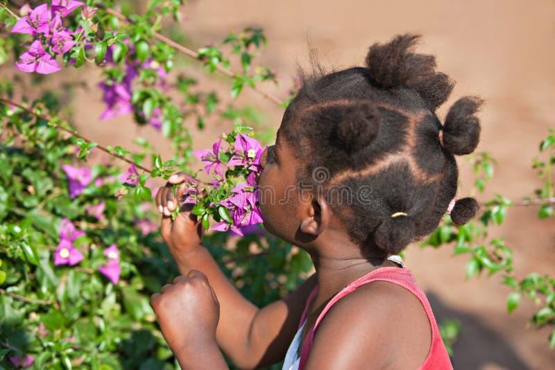 Afrikaans kind stock fotografie