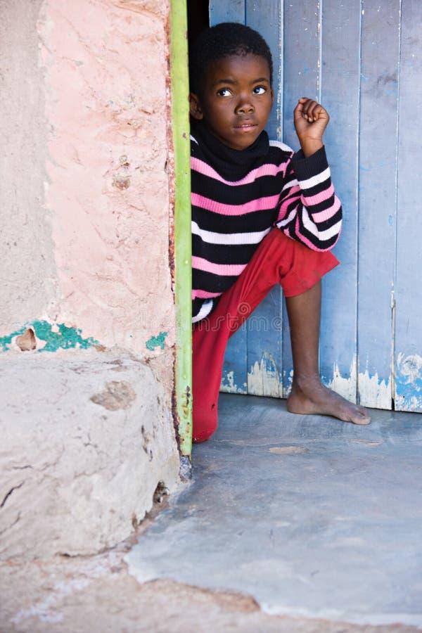 Afrikaans kind stock foto's
