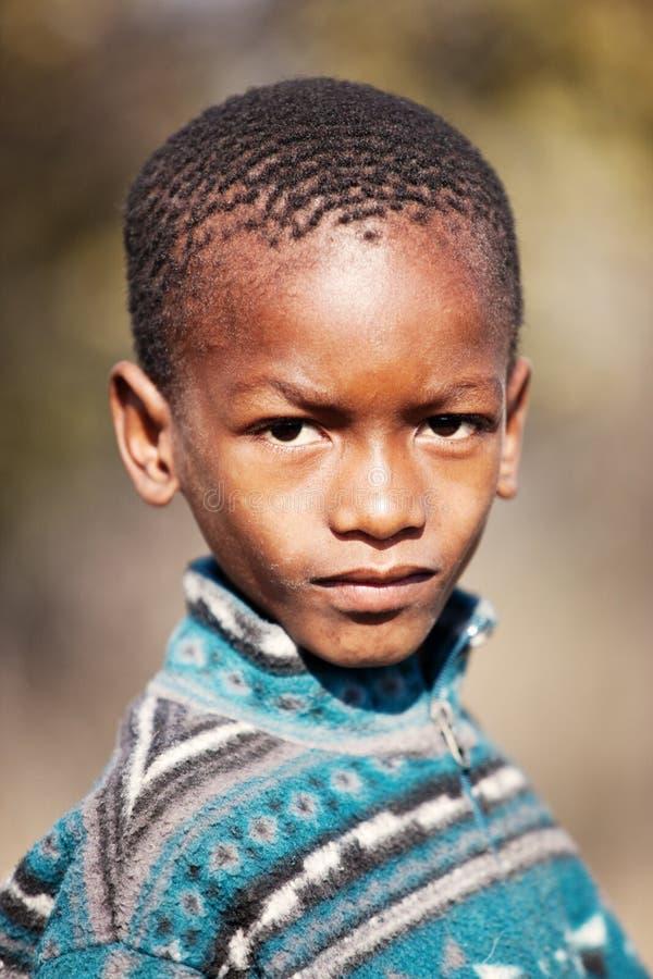 Afrikaans kind royalty-vrije stock foto's