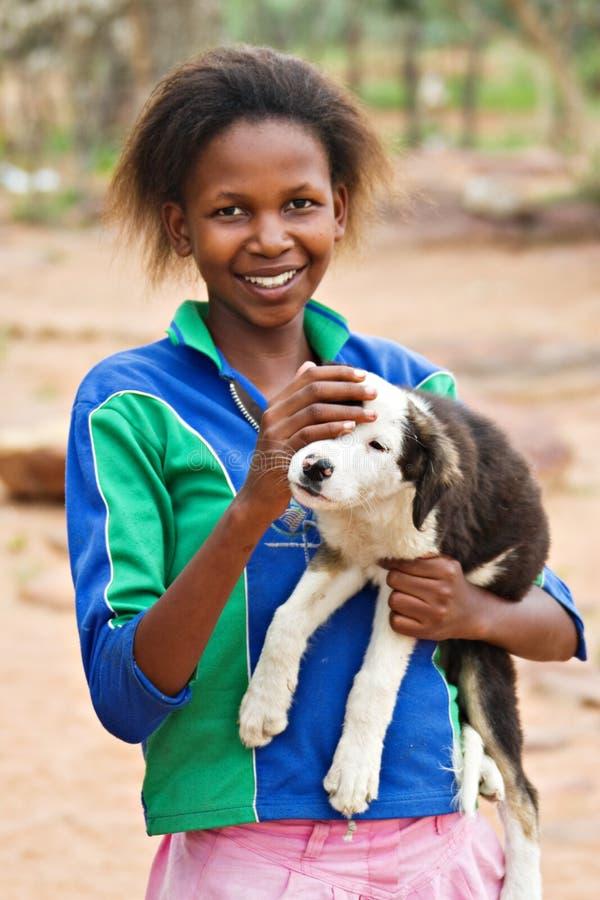 Afrikaans meisje royalty-vrije stock fotografie