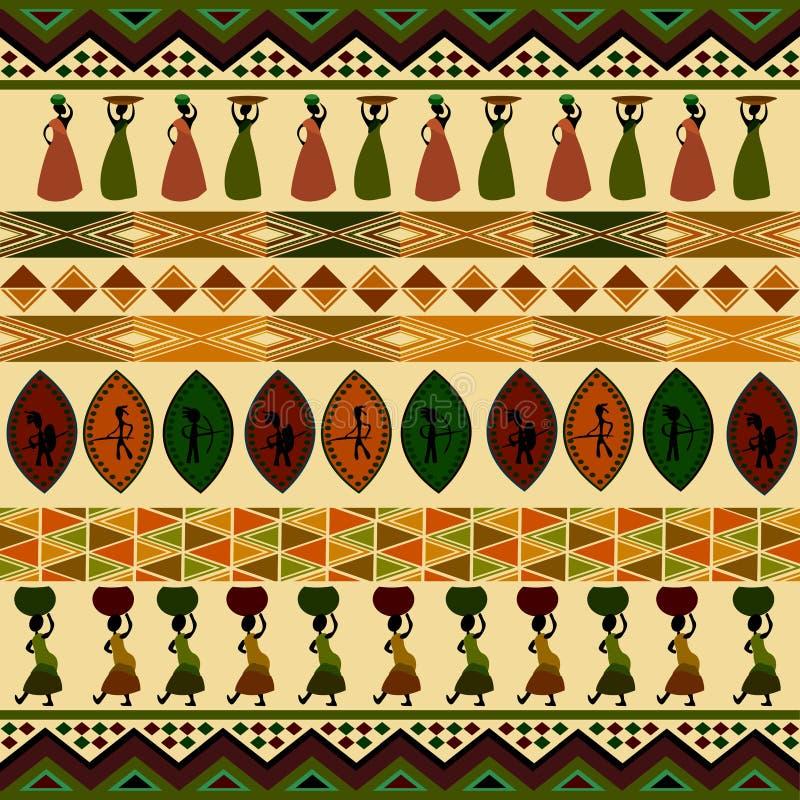 Afrikaans ontwerp stock illustratie