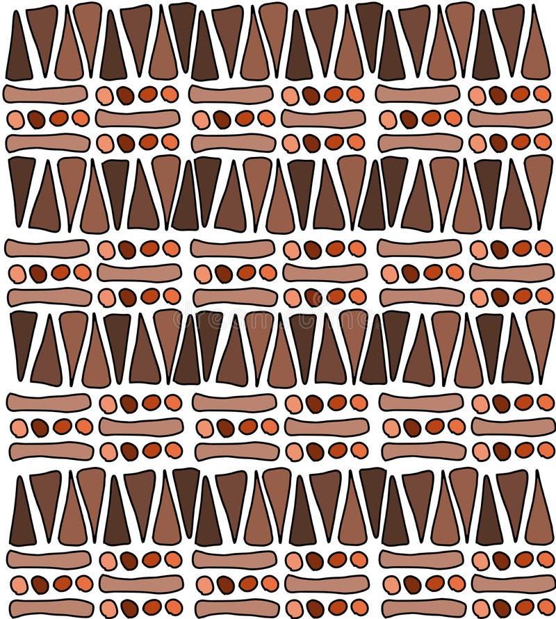 Afrikaans ornament vector illustratie