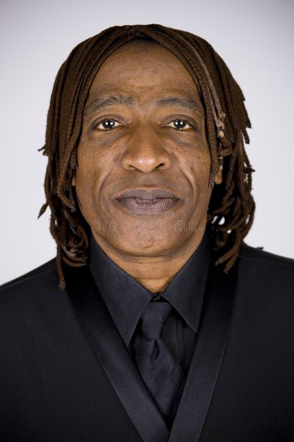 Afrikaanse Amerikaanse Mens royalty-vrije stock foto's
