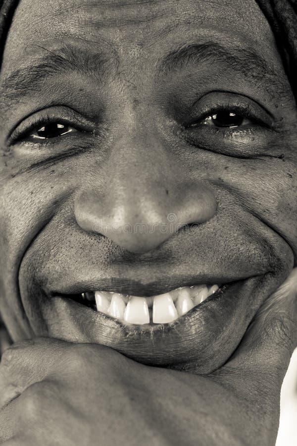 Afrikaanse Amerikaanse Mens stock afbeelding