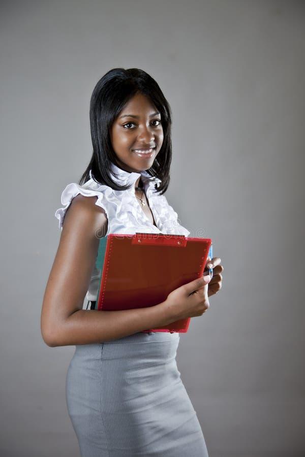 Afrikaanse Amerikaanse student royalty-vrije stock foto