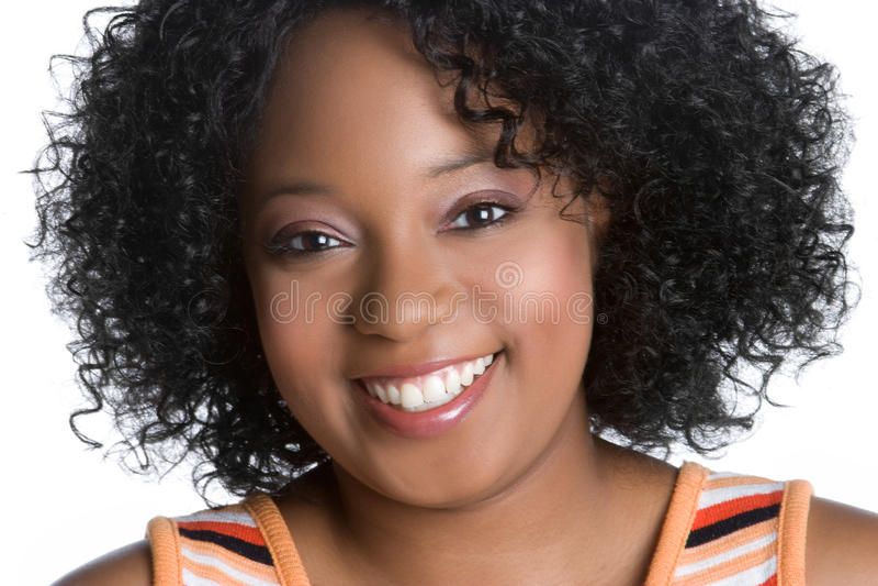 Afrikaanse Amerikaanse Vrouw stock afbeeldingen
