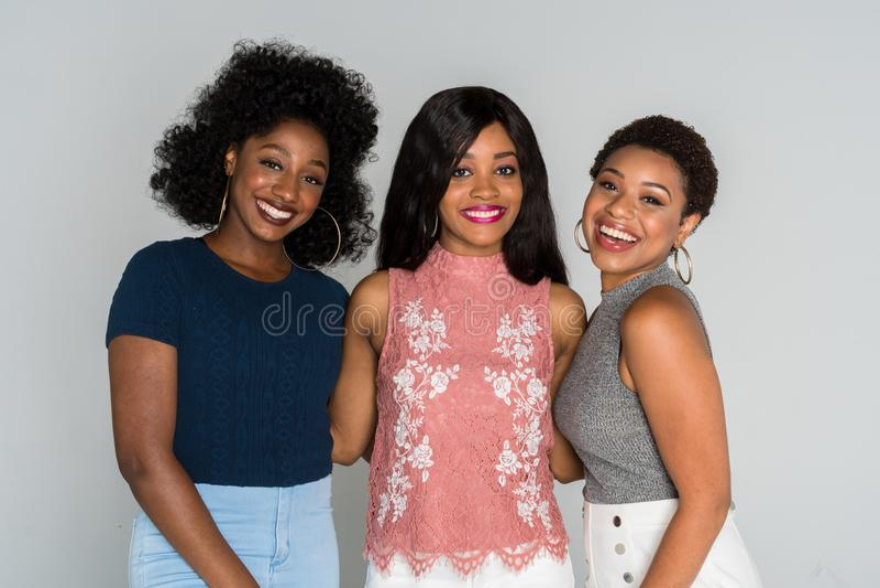 Afrikaanse Amerikaanse vrouwen royalty-vrije stock fotografie