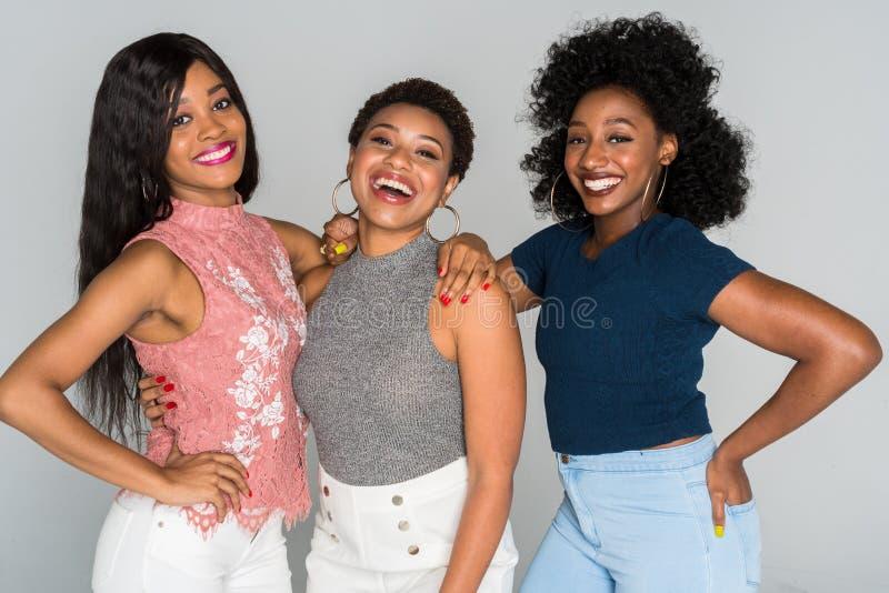 Afrikaanse Amerikaanse vrouwen royalty-vrije stock afbeelding