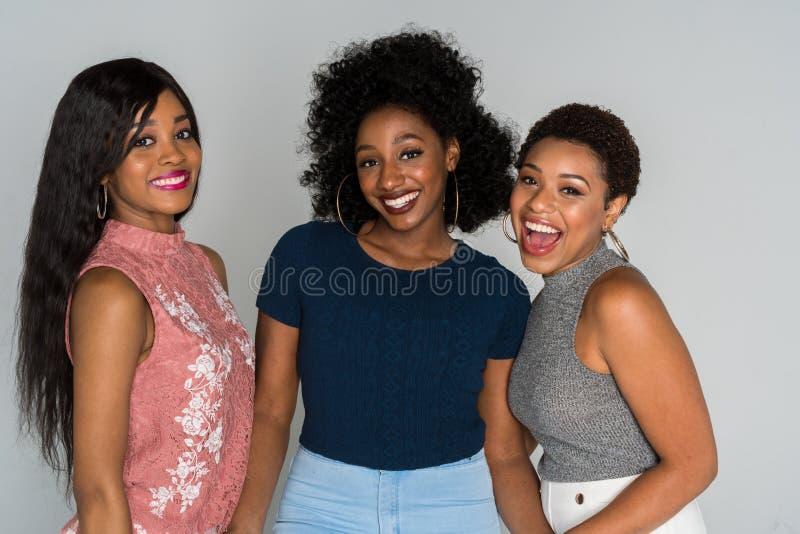 Afrikaanse Amerikaanse vrouwen royalty-vrije stock afbeeldingen