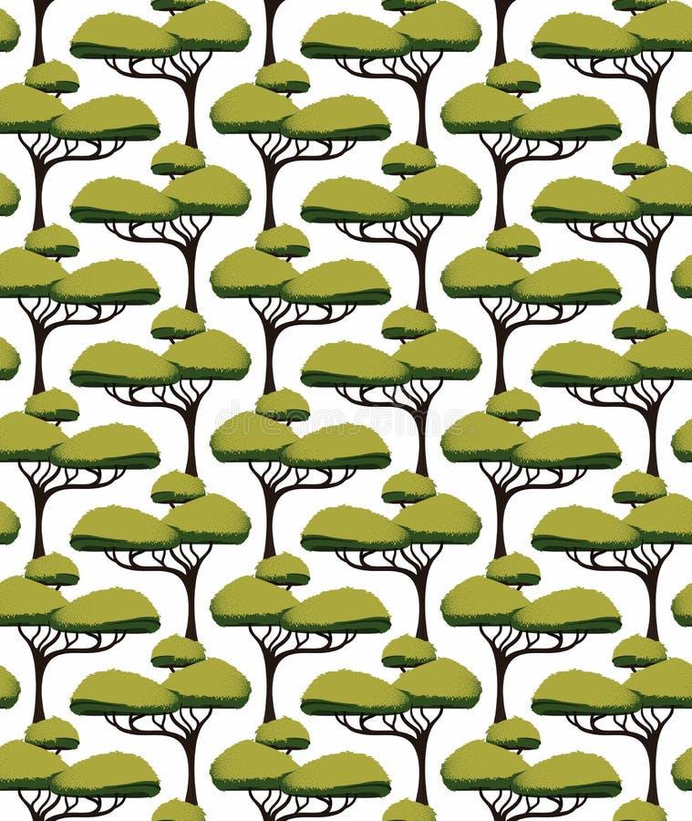 Afrikaanse boomacacia royalty-vrije illustratie