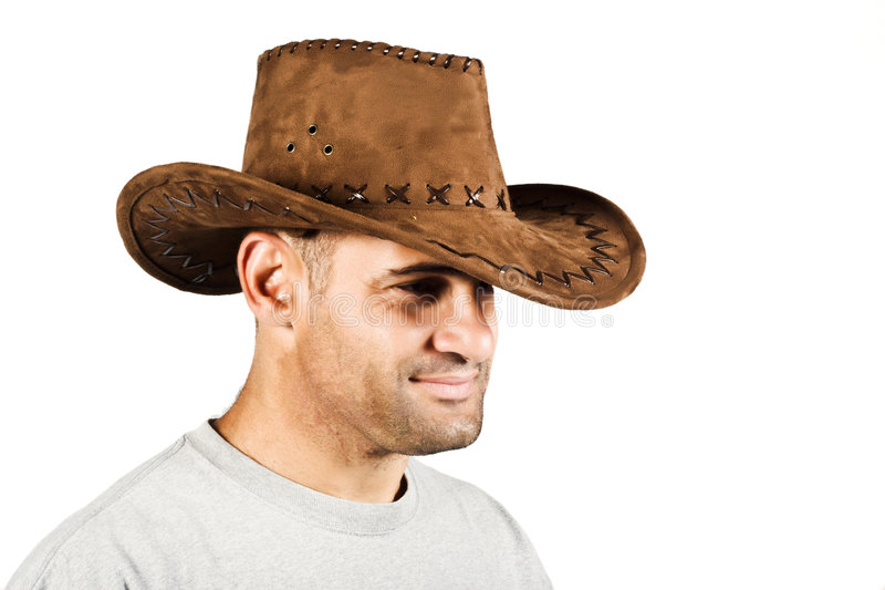 Afrikaanse cowboy royalty-vrije stock foto