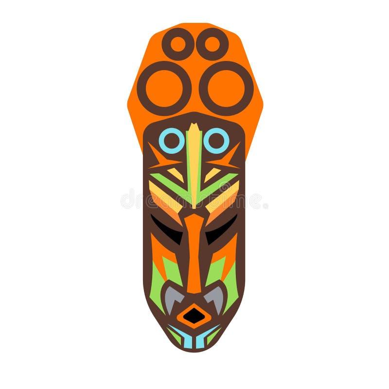 Afrikaanse masker vectorreeks vector illustratie