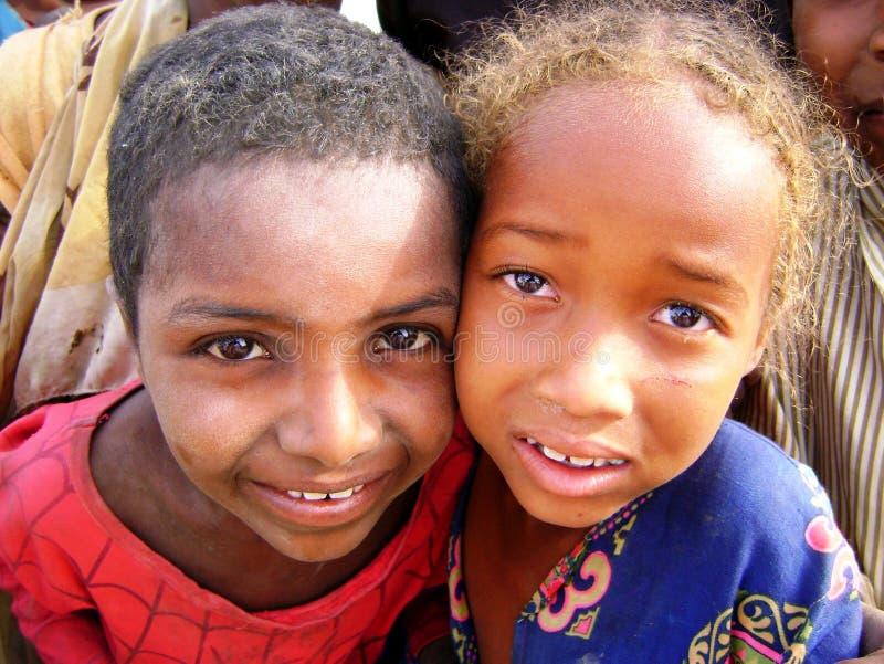 Afrikaanse meisjes stock foto