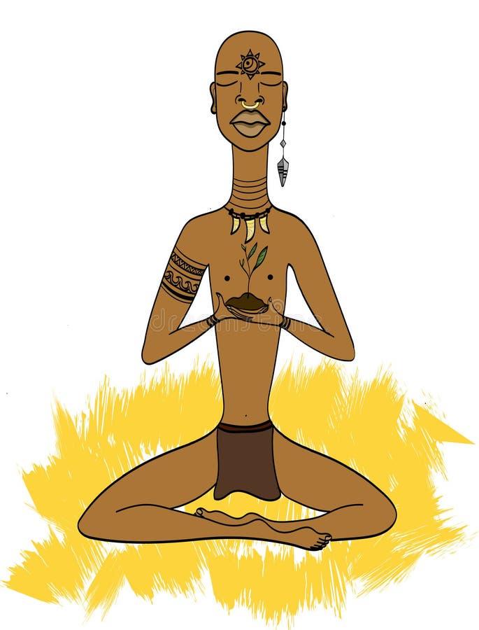 Afrikaanse mens stock afbeeldingen