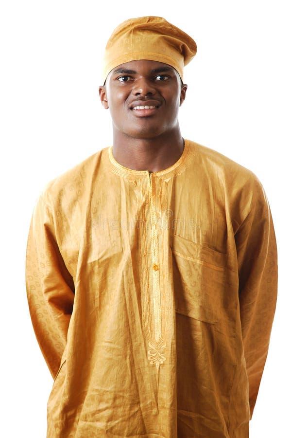 Afrikaanse Mens stock foto