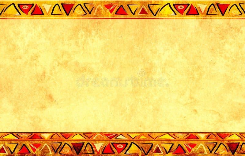 Afrikaanse nationale patronen vector illustratie