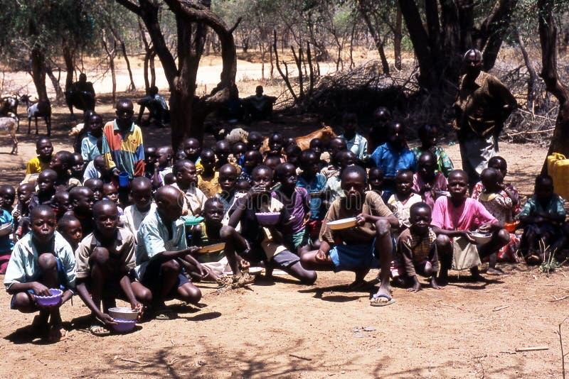 Afrikaanse schooljongens royalty-vrije stock foto's