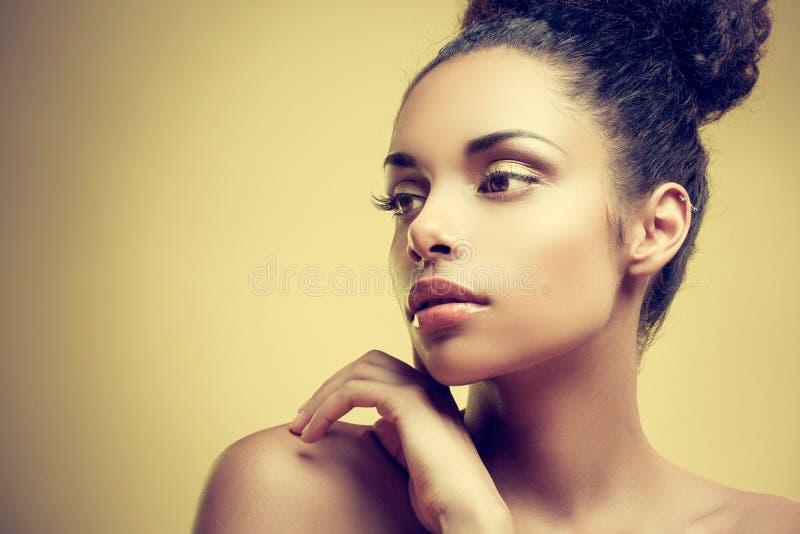 Afrikaanse Schoonheid royalty-vrije stock fotografie