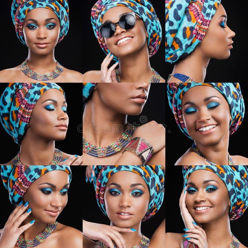 Afrikaanse Schoonheid royalty-vrije stock foto's