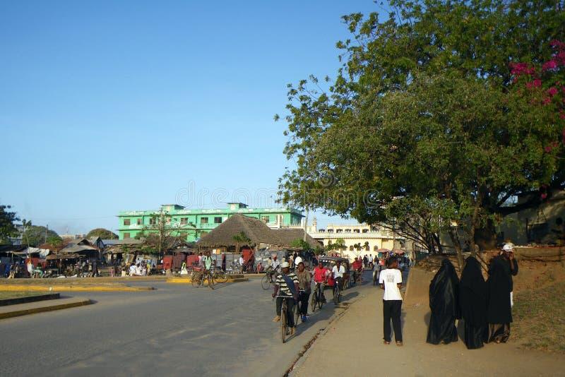 Afrikaanse straat royalty-vrije stock foto