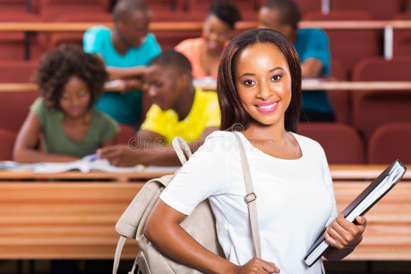 Afrikaanse student stock foto