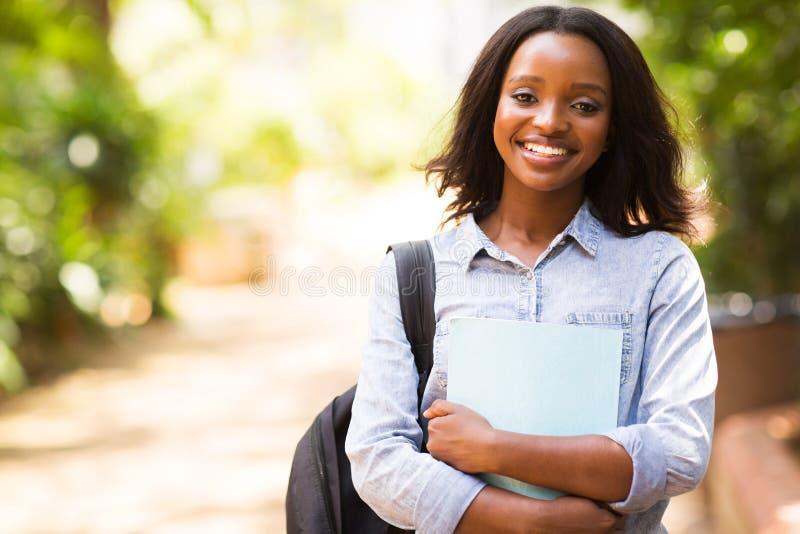 Afrikaanse student stock foto's