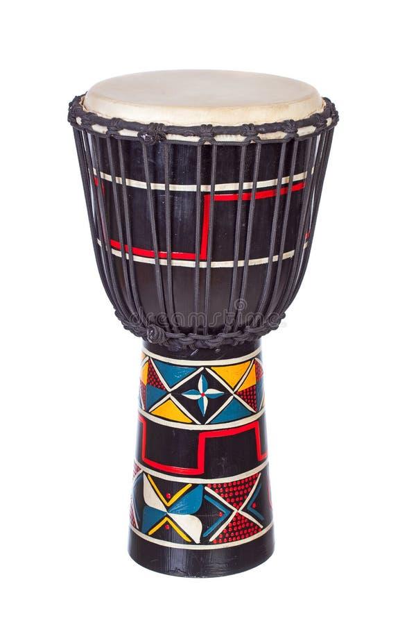 Afrikaanse Trommel Djembe royalty-vrije stock afbeelding