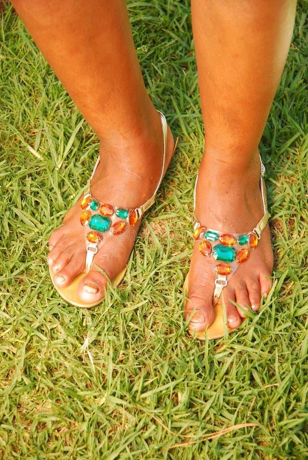 Afrikaanse voeten stock foto's