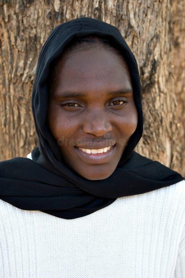 Afrikaanse vrouw stock foto