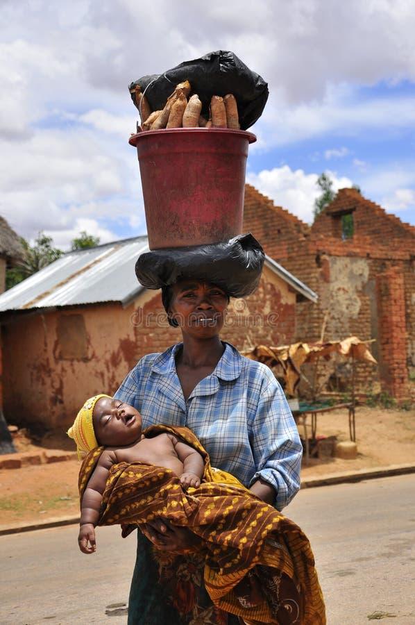 Afrikaanse vrouwen op het werk royalty-vrije stock fotografie