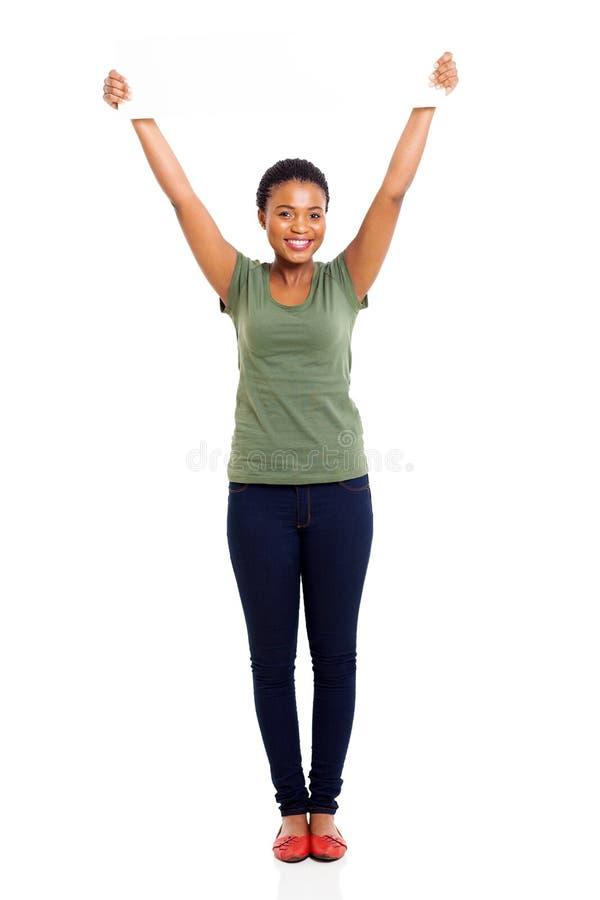 Afrikaanse vrouwen witte raad stock foto