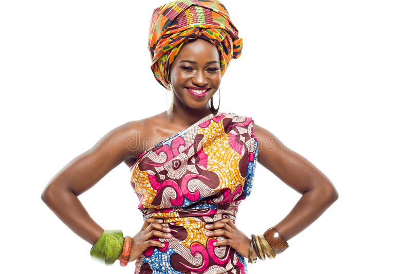 Afrikan-amerikanen danar modellerar. arkivfoto
