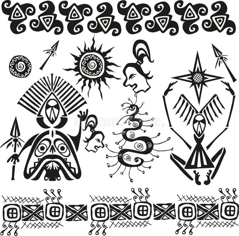 afrikanen figures den pagan urinnevånaren