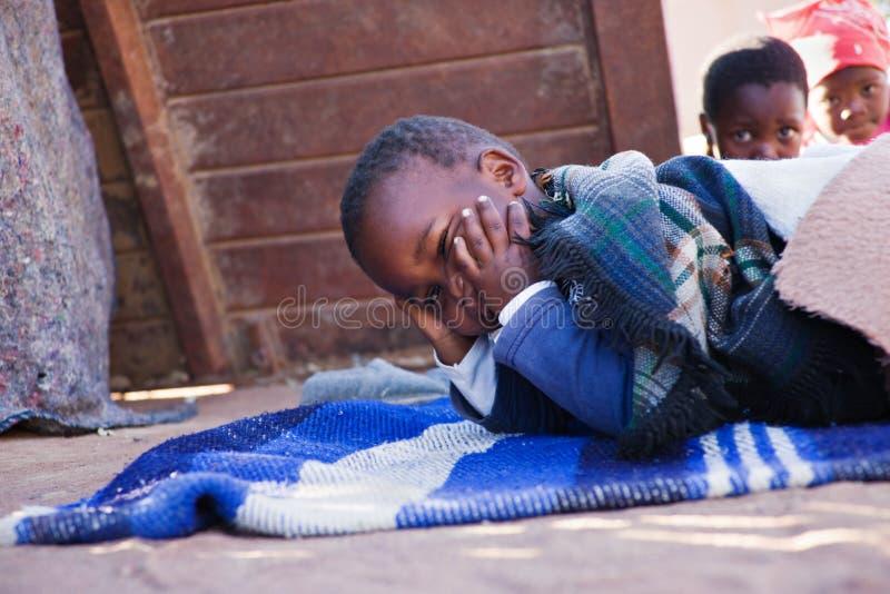 Afrikanische Brüder stockbilder