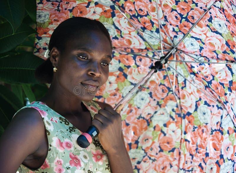 Afrikanische Frau lizenzfreie stockfotos