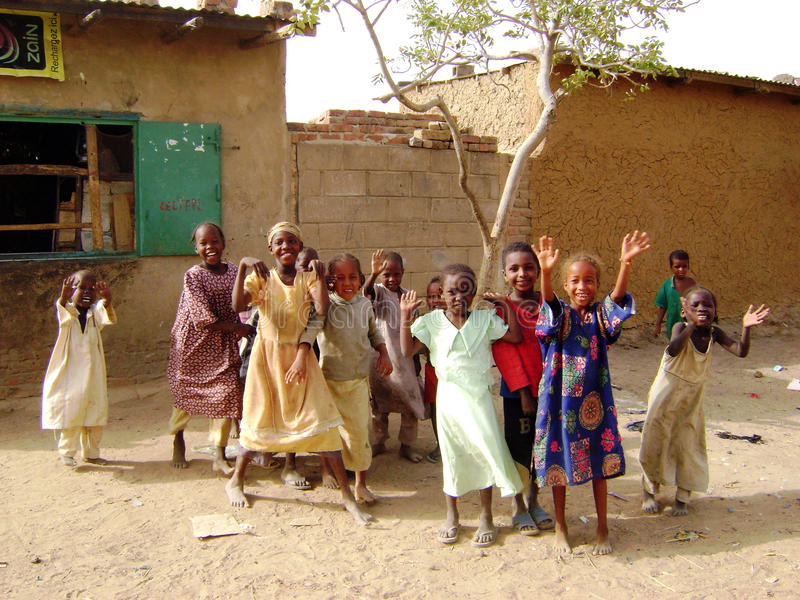 Afrikanische Kinder - Ghana lizenzfreie stockbilder