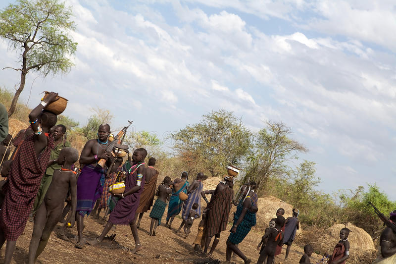 Afrikanische Leute stockfotos