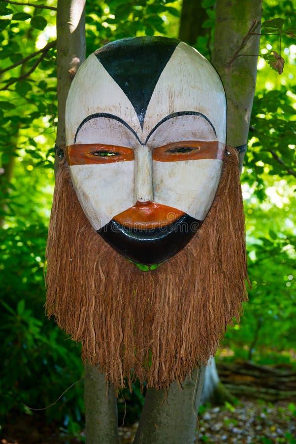 Afrikanische Maske stockfotografie