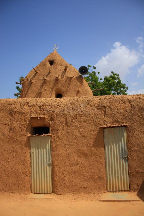 Afrikanische Moschee stockbilder