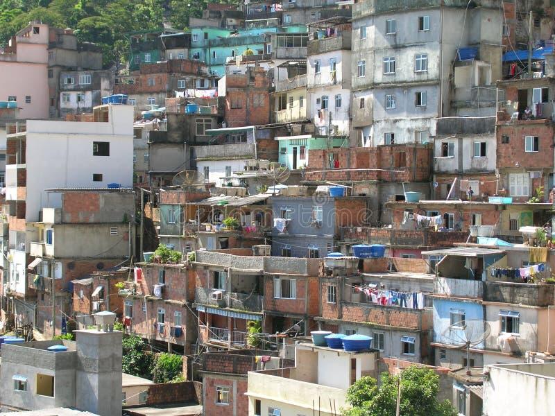 Afrikanische Nachbarschaft lizenzfreies stockfoto