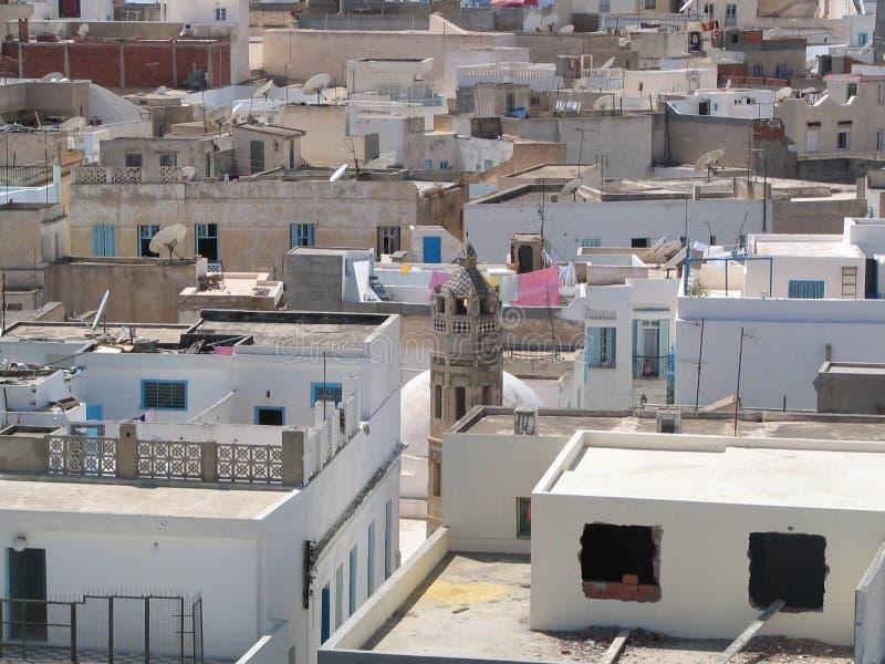 Afrikanische Nordstadt lizenzfreie stockfotografie