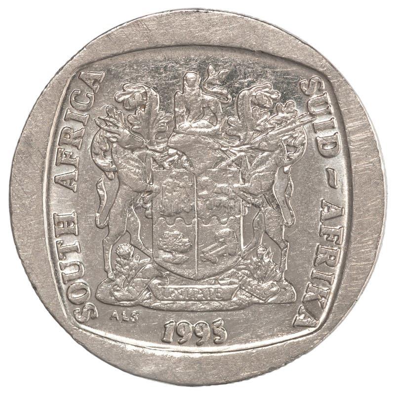 Afrikanische Randmünze lizenzfreie stockbilder