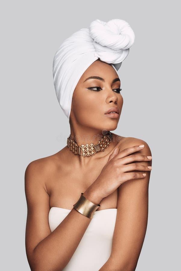 Afrikanische Schönheit stockfotografie