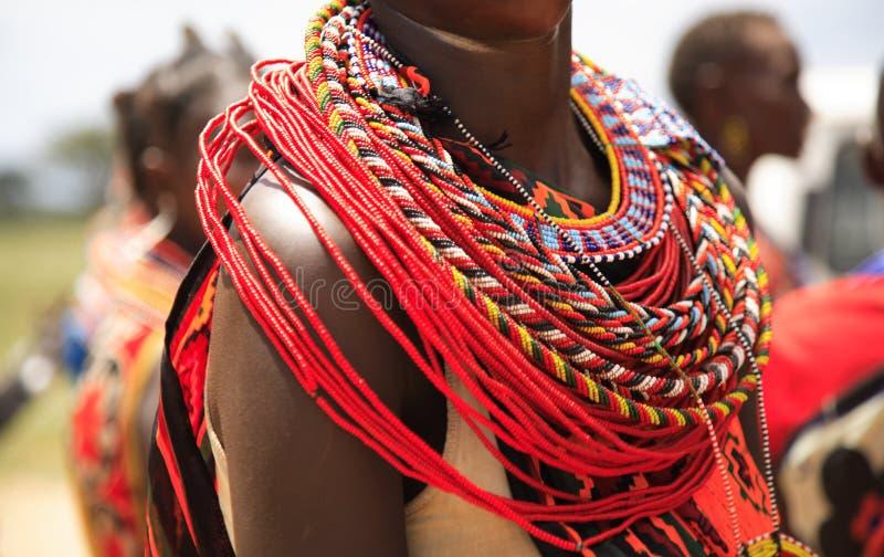 Afrikanische Schmucksachen lizenzfreies stockfoto