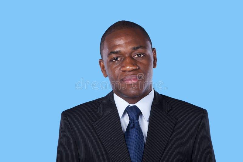 Afrikanischer Geschäftsmann stockfotos