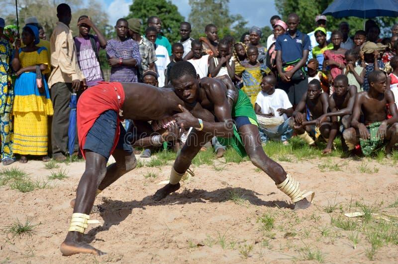 Afrikanischer Sport stockbilder