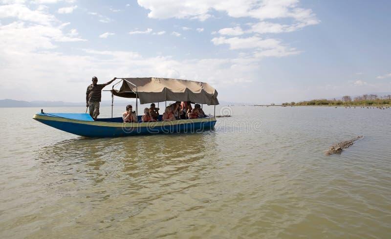 Afrikanischer Tourismus lizenzfreie stockfotos