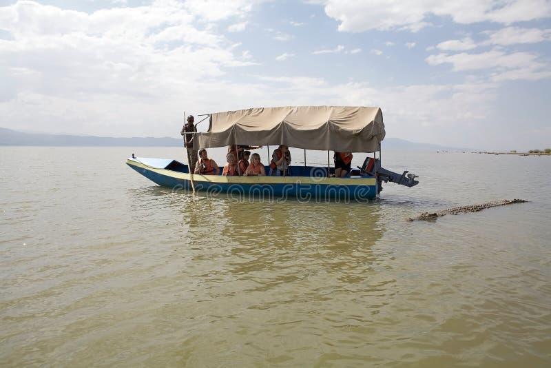 Afrikanischer Tourismus lizenzfreie stockfotografie