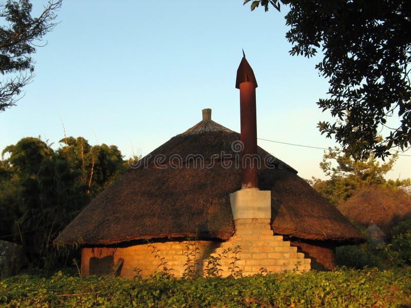 Afrikanisches Gebäude lizenzfreie stockfotos