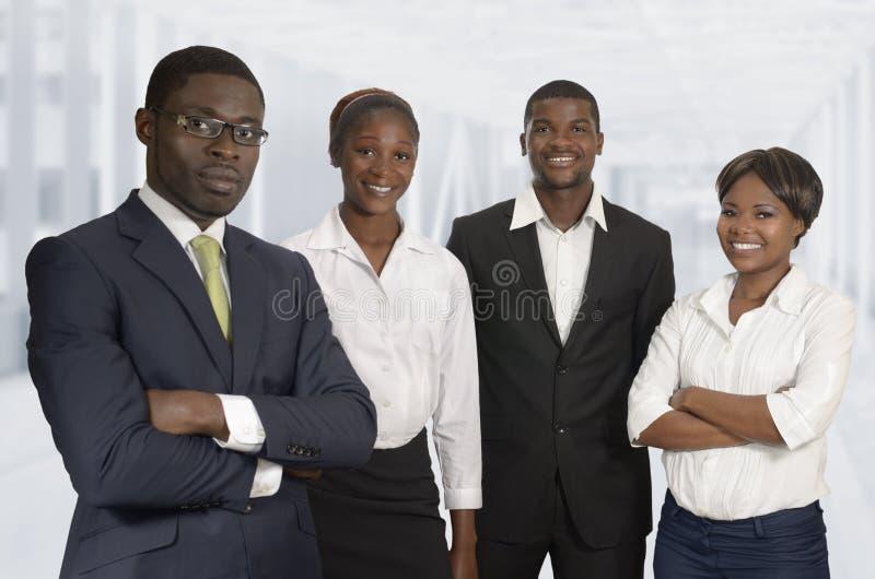 Afrikanisches Geschäfts-Team stockfotos